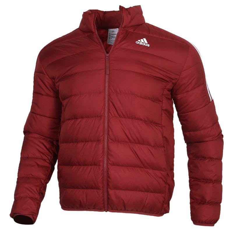 阿迪达斯ADIDAS ESS DOWN JACKET 男装 运动外套保暖休闲羽绒服 GH4595