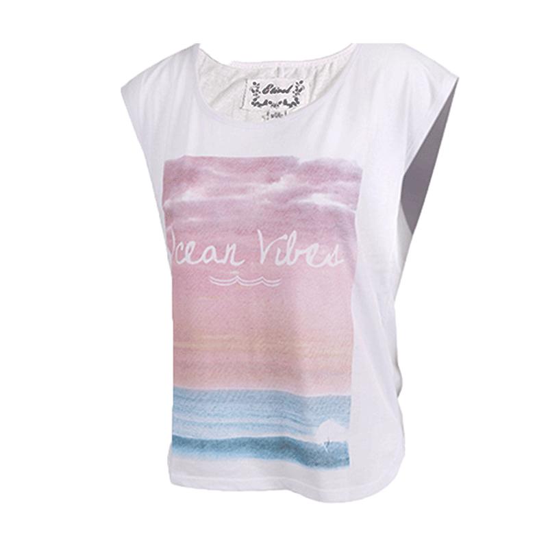 ETIREL女装 春夏 运动休闲短袖T恤轻薄针织上衣 267075-248 267075-001