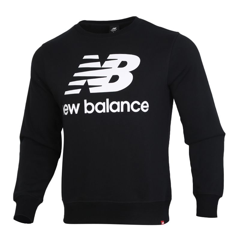 NEW BALANCE 男装 运动休闲套头衫卫衣 AMT91548-BK