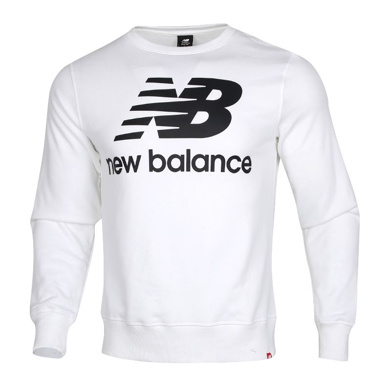 NEW BALANCE 男装 休闲套头衫卫衣 AMT91548-WK