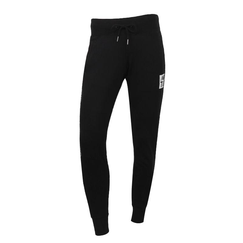 NEW BALANCE 女装 运动休闲跑步收口长裤 AWP83593-BK