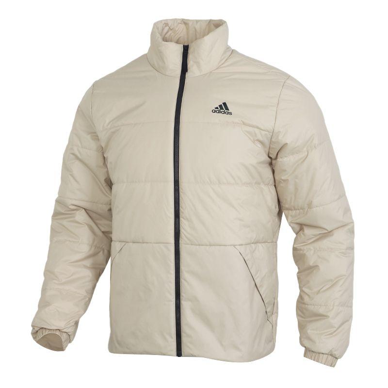 阿迪达斯ADIDAS BSC 3S INS JKT 男装 防风保暖休闲外套棉服 GE5855