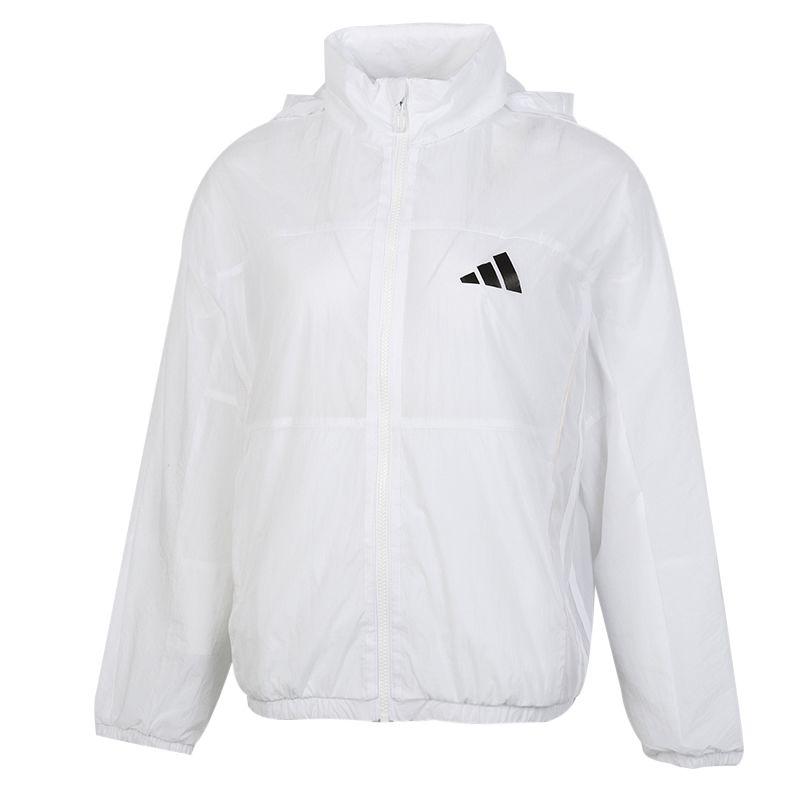 阿迪达斯ADIDAS UR OVERSIZE WB 女装 运动跑步透气休闲夹克 GF0138