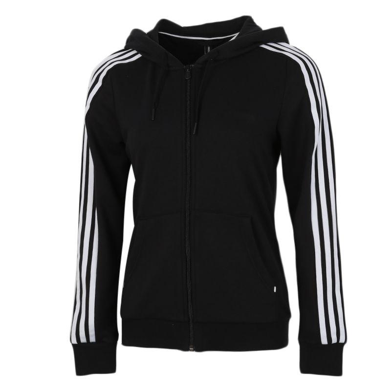 阿迪达斯生活Adidas NEO ESNTL 3S ZHD 女装 运动休闲梭织夹克 GL6053