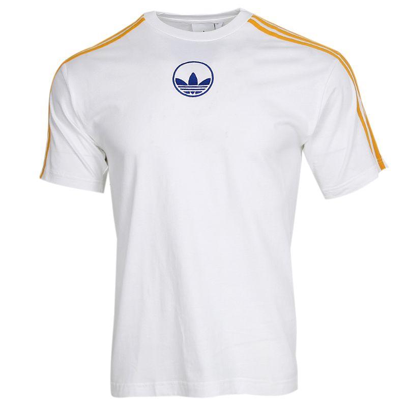 阿迪达斯三叶草ADIDAS 3 STRIPE CIRCLE 男装 运动休闲半袖T恤 GD2122