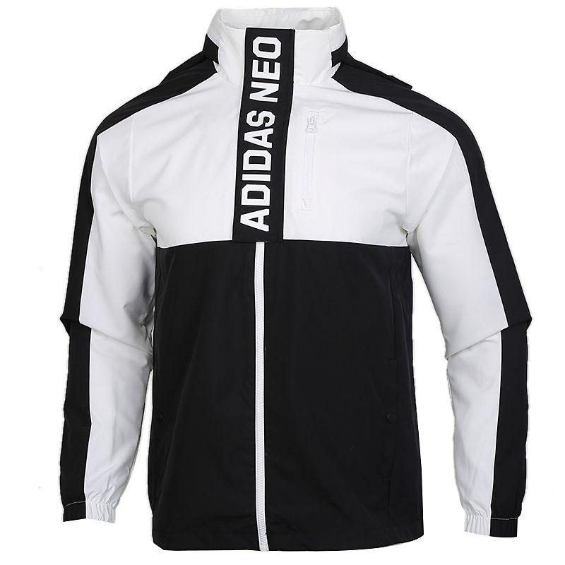 阿迪达斯生活Adidas NEO CS C/B WB 男装 运动工装休闲防风衣外套夹克 GL7188