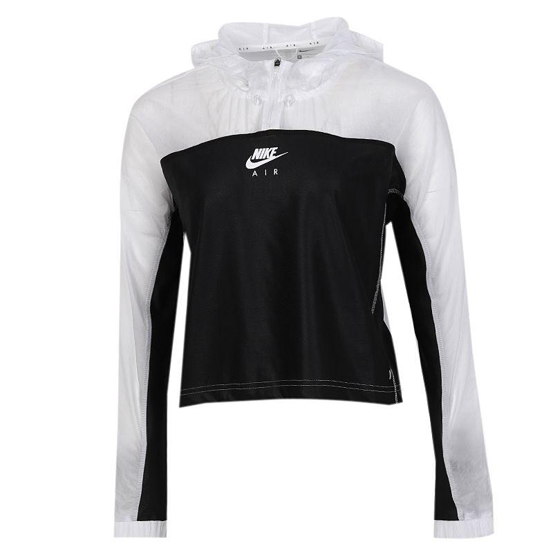 耐克NIKE AS AIR JKT HD 女装 运动拼接休闲套头衫外套 CU3047-100
