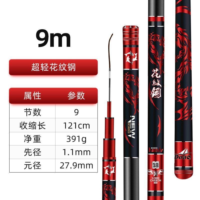 进口高碳布9.0米【大五节设计,超轻超强韧】.