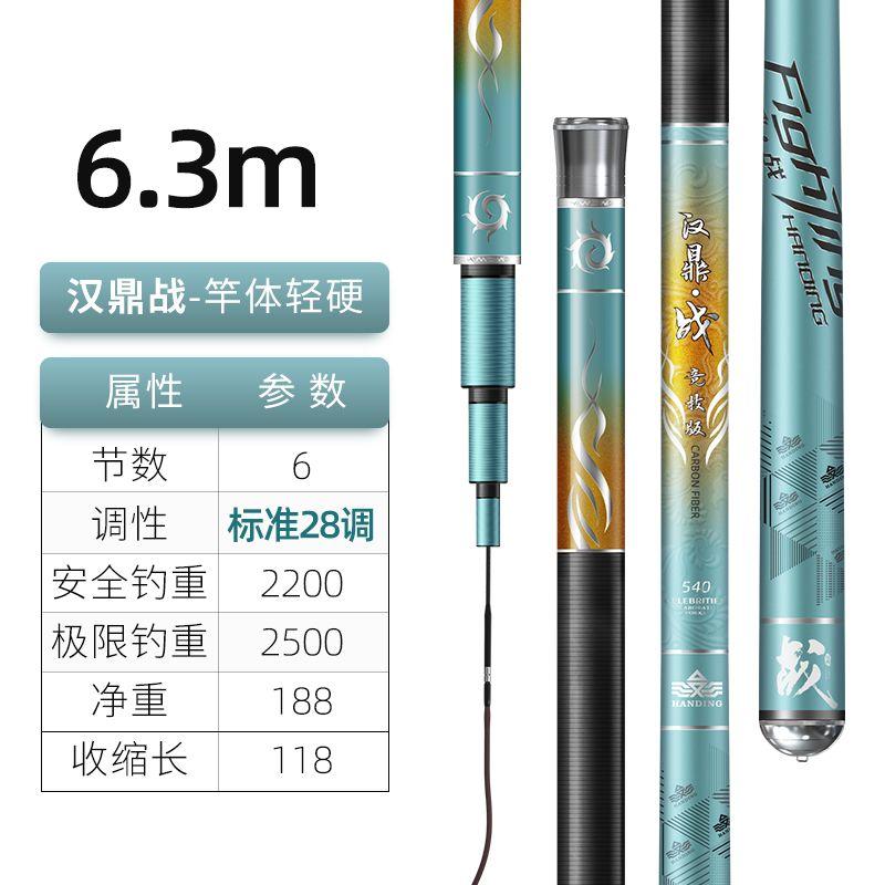 汉鼎战6.3米【巨物利器,尽享搏大鱼快感】