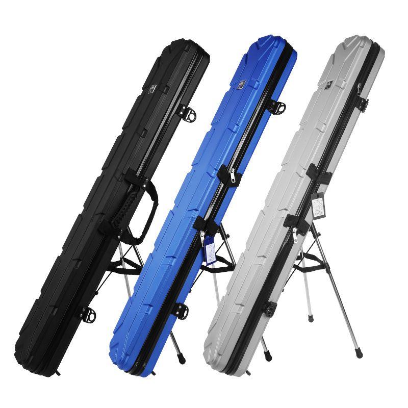 汉鼎硬壳竿包ABS防水大容量钓鱼支架包鱼竿杆包1.25米渔具包GB