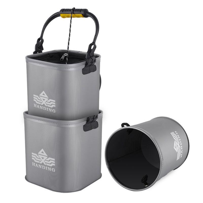 汉鼎eva折叠打水桶加厚钓鱼桶鱼桶便携小水桶装鱼活鱼桶渔具DSTH