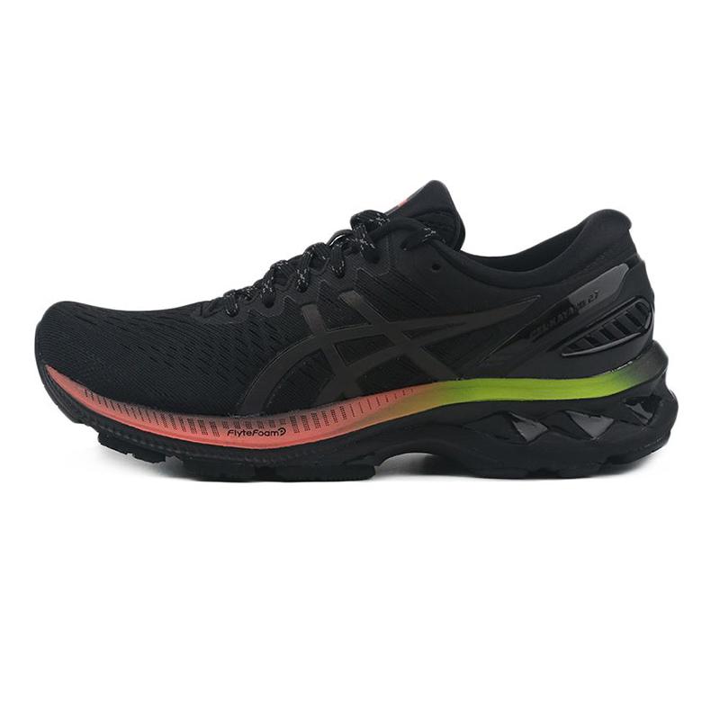 亚瑟士ASICS KAYANO 27 LITE-SHOW 女鞋 运动休闲减震跑步鞋 1012A965-001