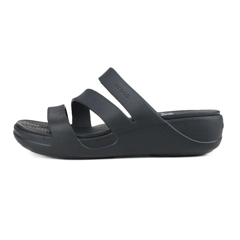 卡骆驰Crocs  女鞋 运动轻便沙滩休闲凉拖凉鞋 206304-001