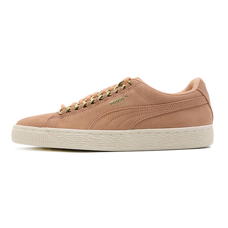 puma彪马女鞋 秋季 运动鞋Suede低帮透气金标休闲鞋板鞋367352-01