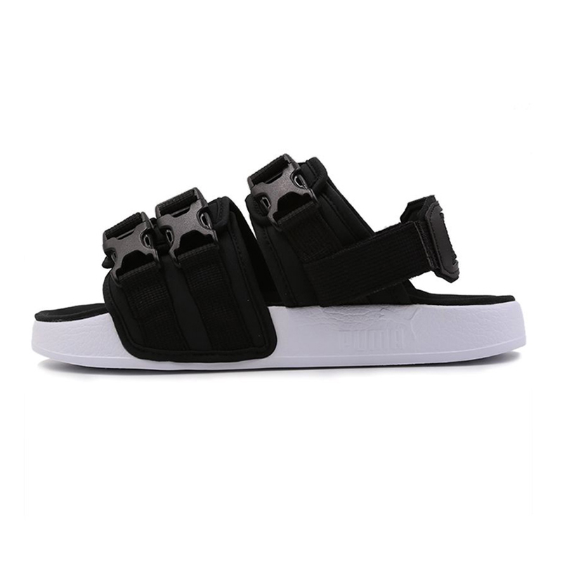 PUMA 彪马 Leadcat YLM 中性 运动拖鞋休闲沙滩凉鞋  369407-01
