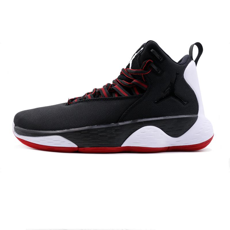 NIKE耐克男鞋 秋季 运动鞋JORDAN SUPER缓震耐磨基础款篮球鞋 AR0038-023