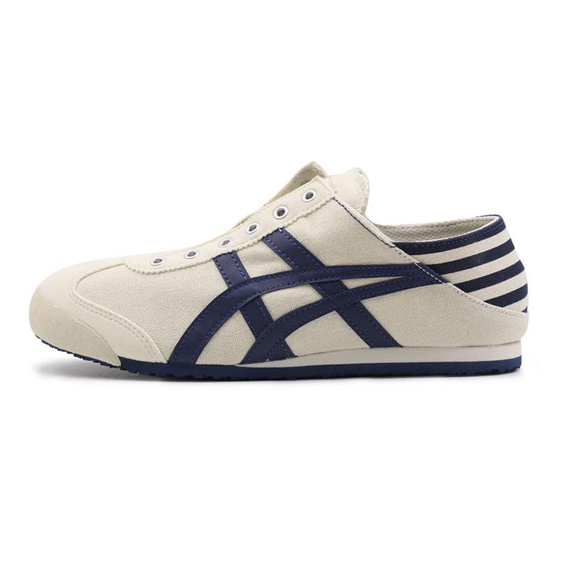 鬼塚虎  男鞋女鞋  小白鞋懒人鞋休闲板鞋 TH342N-0250 TH342N-4202 建议选购大半码到一码