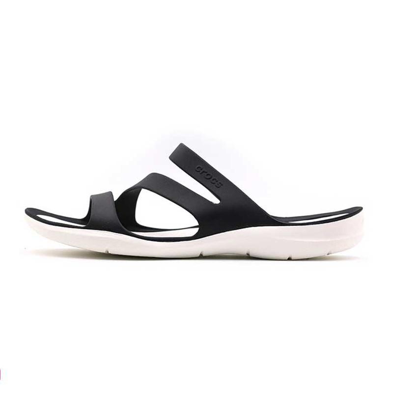卡洛驰 Crocs 女子 运动休闲凉鞋透气沙滩鞋拖鞋203998-3o2 203998-066