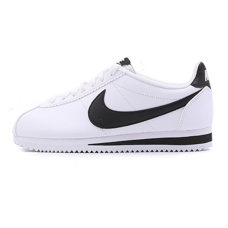 Nike耐克女鞋 秋冬 运动鞋时尚元年黑白阿甘复古低帮休闲鞋板鞋 807471-101