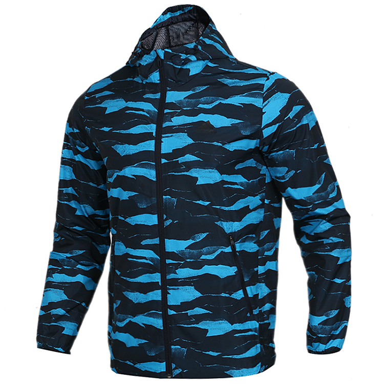 Adidas阿迪达斯COMM WB CAMO男子夹克外套DW4656