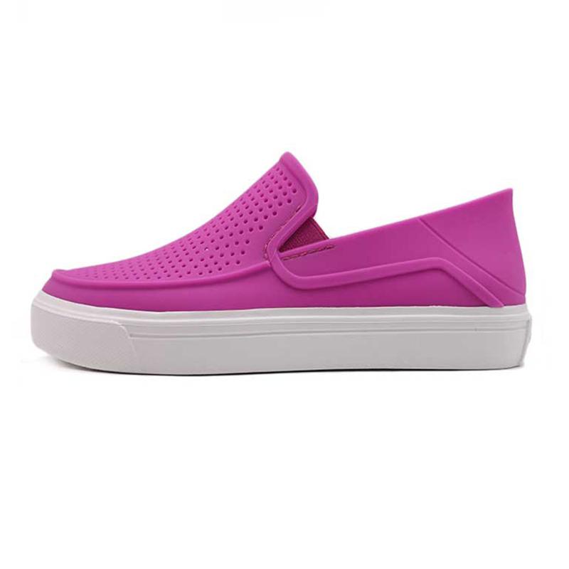 卡骆驰 Crocs 女子 都会街头洛卡平底休闲鞋凉鞋204622-59L