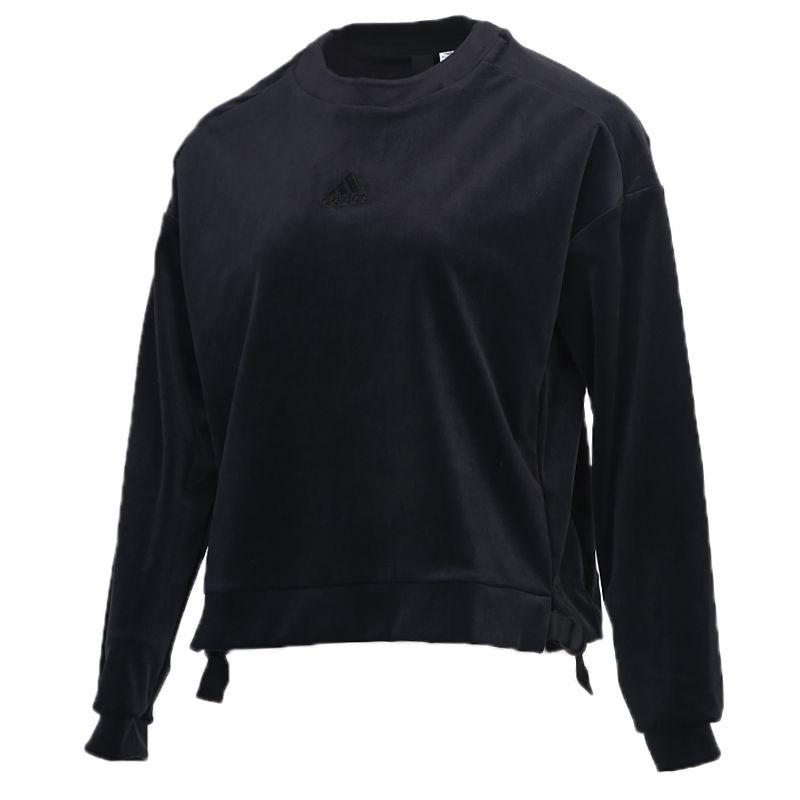阿迪达斯ADIDAS STYLE VELOR SWT 女装 运动休闲套头衫卫衣 GM1461