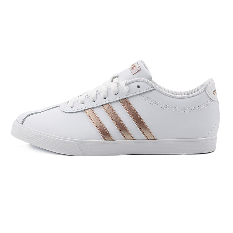 阿迪达斯ADIDAS COURTSET 女鞋 运动鞋低帮透气休闲鞋板鞋 FW4168