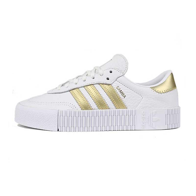 阿迪达斯三叶草 Adidas 女子 低帮休闲鞋板鞋  EE4681