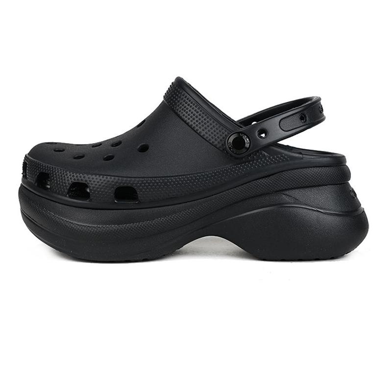 卡骆驰Crocs  女鞋 户外沙滩鞋松糕厚底凉鞋休闲鞋 206302-001