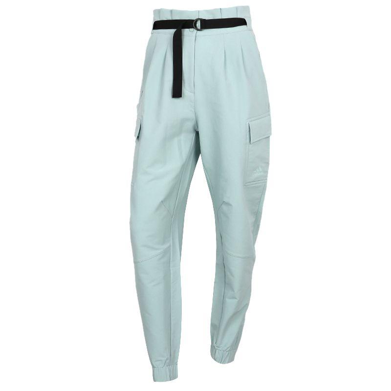 阿迪达斯ADIDAS STYLE NEW PT 女装 运动跑步训练健身舒适快干透气休闲梭织长裤 GR3739