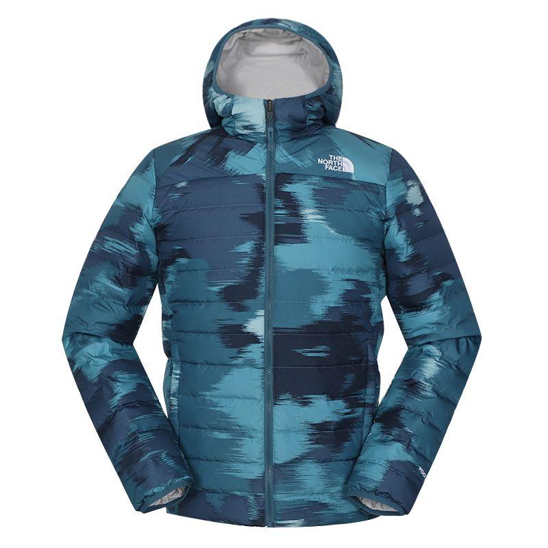 北面TheNorthFace  男装 2020冬季新款户外防风保暖两面穿运动休闲羽绒服 4NG3SD1