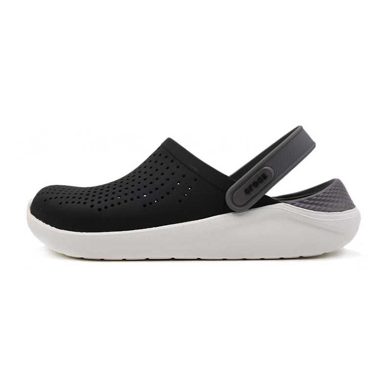 Crocs 卡骆驰 男女  LiteRide撞色克骆格鞋子舒适透气耐磨休闲洞洞鞋 204592 204592-05M 204592-6PL