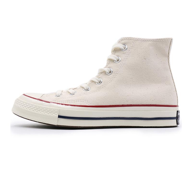 匡威男鞋女鞋 夏秋 运动鞋1970s三星标米白帆布鞋休闲板鞋162053