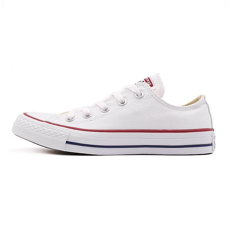 匡威 男鞋女鞋 All Star经典常青款舒适透气低帮轻便帆布鞋休闲鞋板鞋帆布鞋 101001