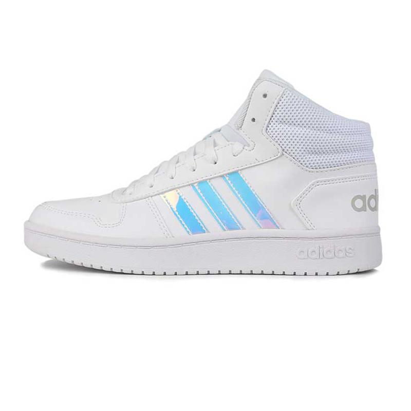 阿迪生活 Adidas NEO HOOPS 2.0 MID 女子 耐磨舒适 篮球鞋  EH3414
