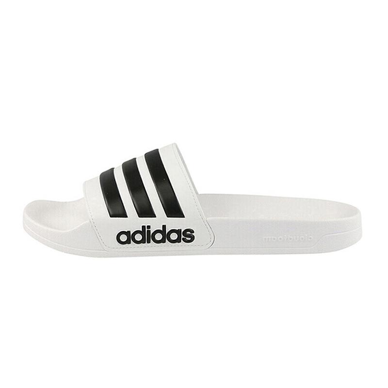 阿迪达斯adidas neo男女鞋  情侣鞋沙滩拖鞋舒适休闲凉鞋拖鞋AQ1702