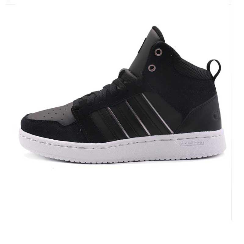 adidas阿迪达斯NEO女鞋春 运动高帮休闲板鞋休闲鞋DB0307