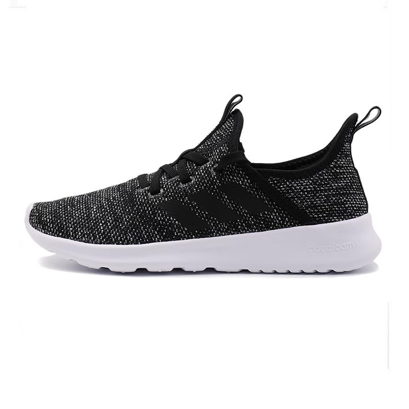 阿迪达斯NEO女鞋春 运动鞋低帮轻便透气板鞋跑步鞋DB0694
