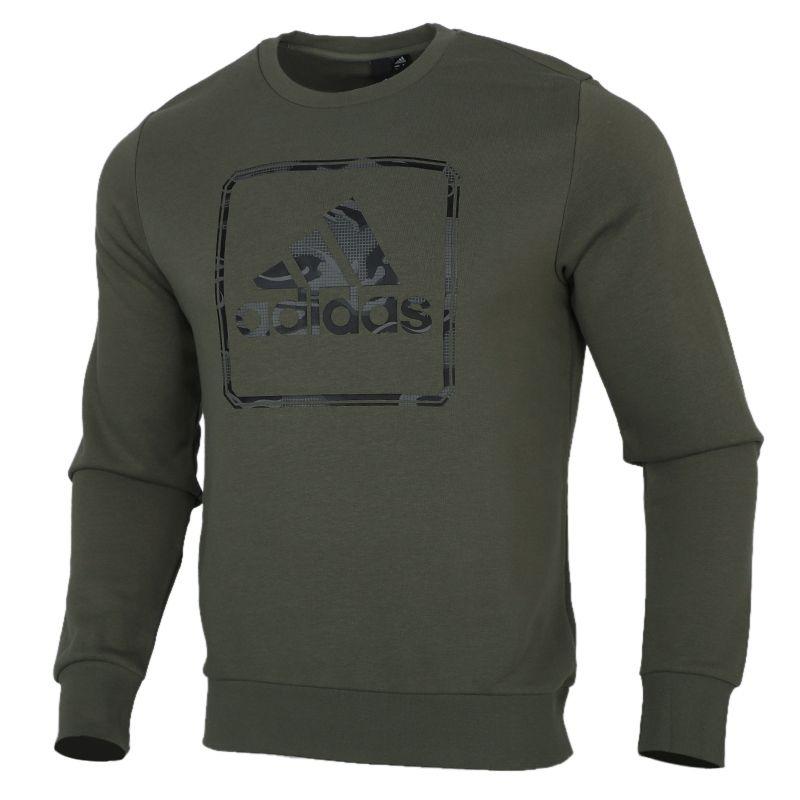 阿迪达斯ADIDAS 男装 2020冬季新款运动圆领套头衫休闲卫衣 GM4478
