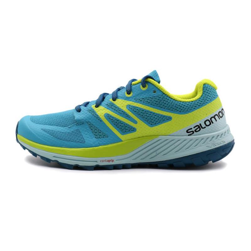 萨洛蒙 salomon 女鞋 户外低帮缓震防滑透气越野跑鞋 L40092900