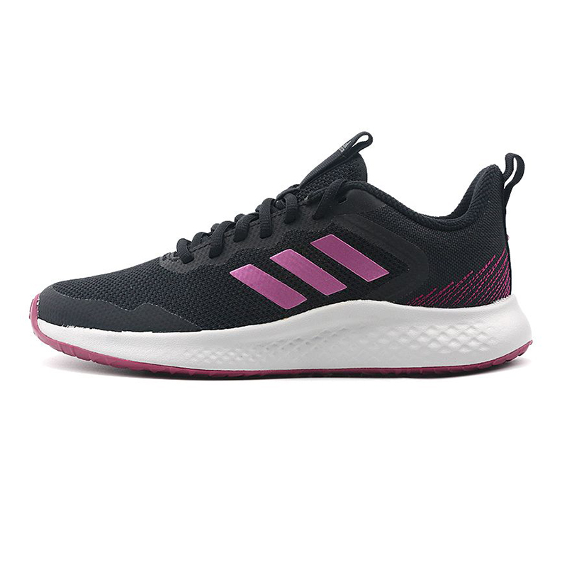 阿迪达斯ADIDAS FLUIDSTREET 女鞋 运动鞋网面休闲鞋透气轻便跑步鞋 FW9565