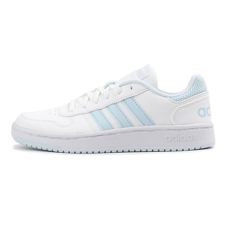 阿迪达斯生活Adidas NEO HOOPS 2.0 女鞋 运动休闲舒适板鞋 G55064