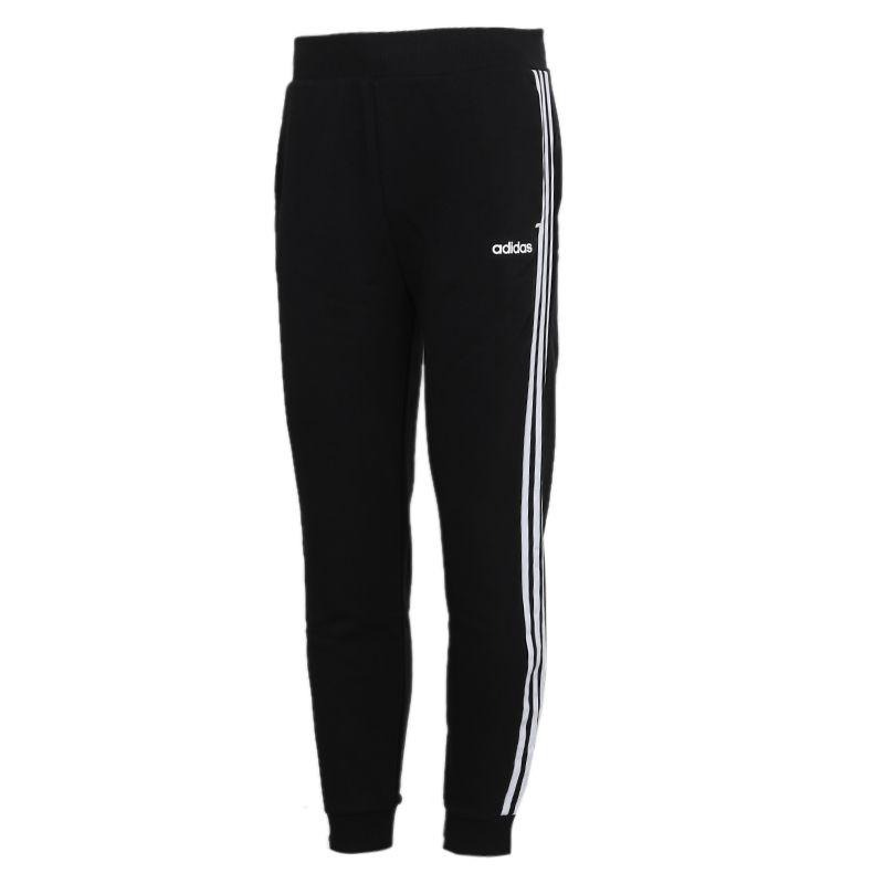阿迪达斯生活Adidas NEO ESNTL 3S TP 男装 休闲健身训练收口运动长裤 GJ8907