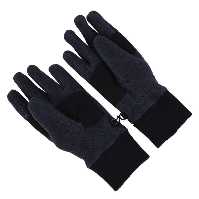 狼爪Jack wolfskin  男女 运动休闲防风加绒保暖滑雪骑行手套 1901751-1010