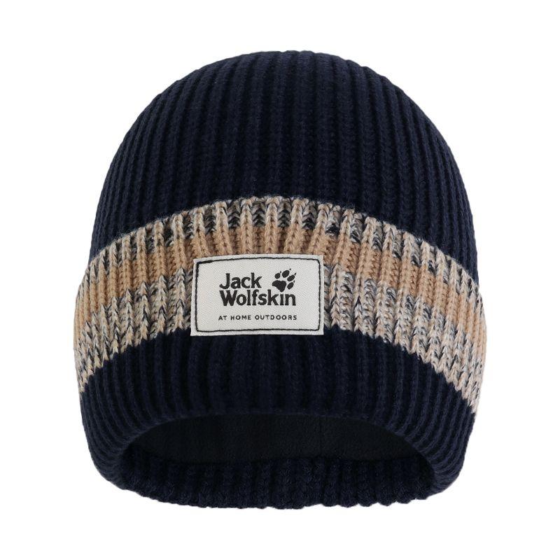 狼爪Jack wolfskin  男女 户外针织保暖毛线运动休闲帽 1907991-1033