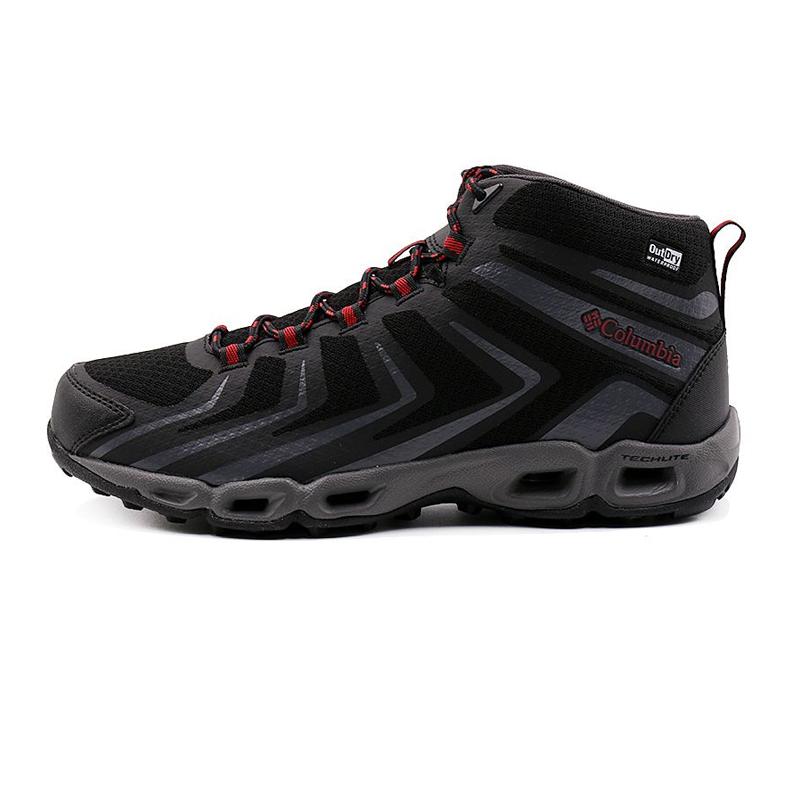 哥伦比亚 Columbia 男鞋 户外运动登山防水舒适缓震耐磨徒步鞋 BM4660010