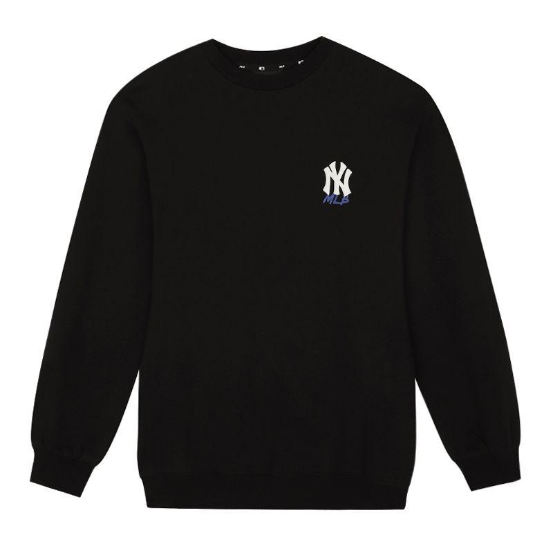 MLB 女装  美职棒运动服圆领舒适健身训练宽松简约款卫衣套头衫 31MT04-50L