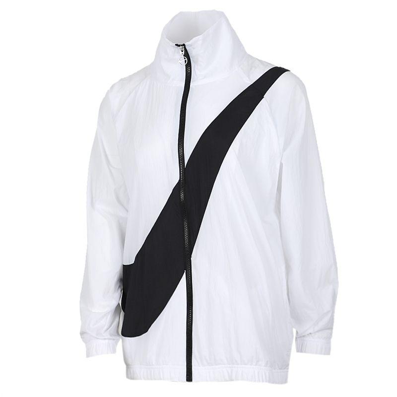 耐克NIKE AS  SWSH JKT WVN CB NFS 女装 运动休闲防风衣夹克 CV8659-100