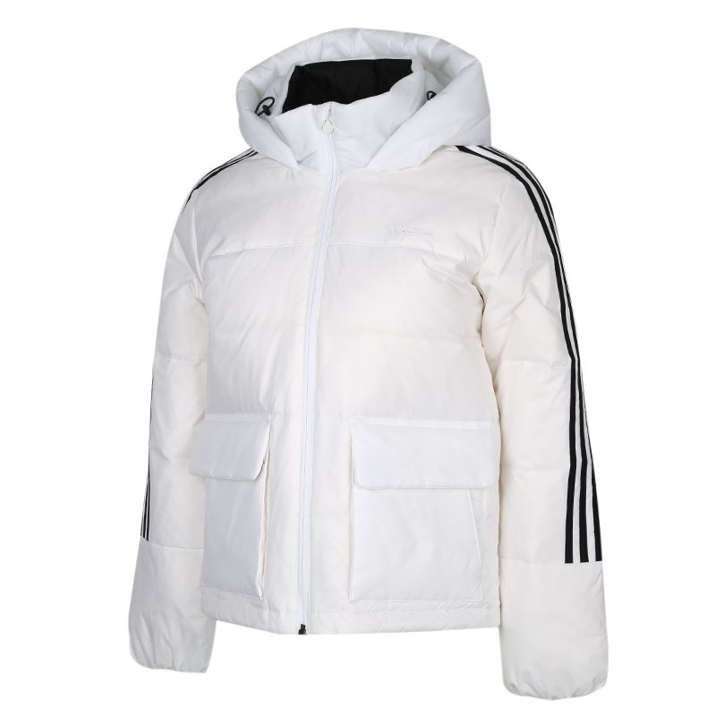 阿迪达斯生活Adidas NEO BRND LWD JKT 女装 运动休闲保暖羽绒服 GJ8833