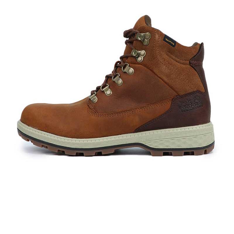 狼爪 Jack wolfskin  男子 耐磨舒适透气高帮休闲鞋  4035911-5213